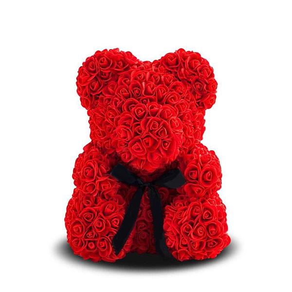 """Мишка и роз""""Teddy Bear"""" 25 см"""